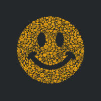 Smiley - Softstyle™ youth ringspun t-shirt Design