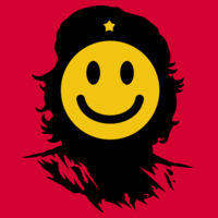 Che Smiles - Softstyle® women's deep scoop t-shirt Design