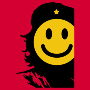 Che Smiles - Softstyle™ adult ringspun t-shirt Design