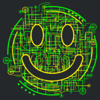 Electric Smiley - Copy of Softstyle™ adult tank top Design