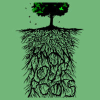 Know Your Roots - Softstyle® women's deep scoop t-shirt Design