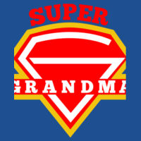 Super Grandma - Softstyle™ adult ringspun t-shirt Design