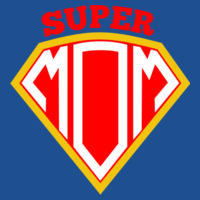 Super Mom - Softstyle™ adult ringspun t-shirt Design