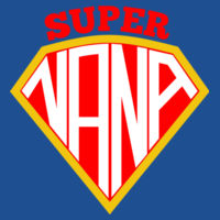 Super Nana - Softstyle™ adult ringspun t-shirt Design
