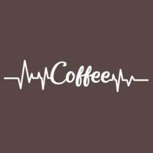 Coffee Heartbeat - College Hoodie Design