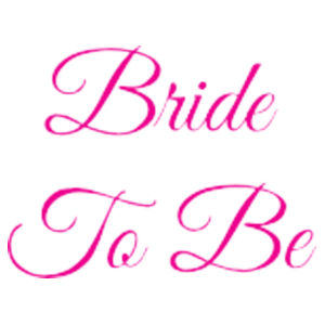 Bride To Be - 25mm Badge Design