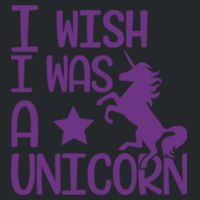 I wish I was a unicorn - Softstyle® women's deep scoop t-shirt Design