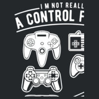 A Control Freak - Softstyle™ adult ringspun t-shirt Design