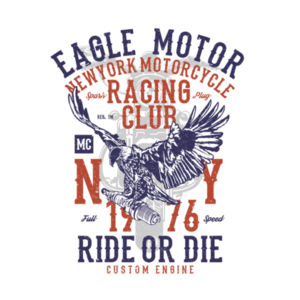Eagle Motorcycle Racing Club Design