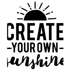 Create Your Own Sunshine - Softstyle™ women's tank top Design