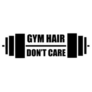 Gym Hair , Dont Care - Softstyle™ adult tank top Design
