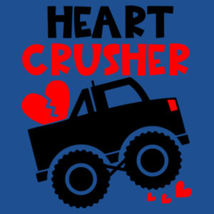 Heart Crusher - Softstyle™ adult ringspun t-shirt Design