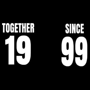 Together Since - Matching T-shirts Softstyle  Design