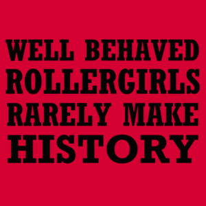 Well Behaved Rollergirls Design