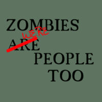 Zombies Were People Too Design