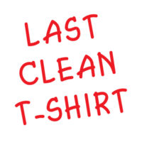 Last Clean T-shirt Design