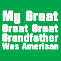 Great Grandfather - Heavy Cotton 100% Cotton T Shirt Design
