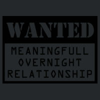 Wanted - Meaningfull overnight relationship Design