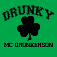 Drunky Mc Drunkerson Design