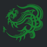 Celtic Dragon  - Heavy Cotton 100% Cotton T Shirt Design