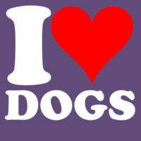 I Heart Dogs  Design