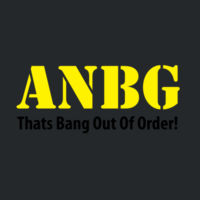 ANBG That's Bang Out Of Order Design