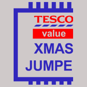 Tesco Xmas Jumper - Heavy blend™ adult crew neck sweatshirt Design