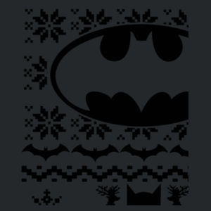 Batman Christmas Jumper - Heavy blend™ adult crew neck sweatshirt Design
