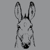 Donkey - Softstyle™ adult ringspun t-shirt Design