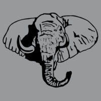 Elephant - Heavy Cotton 100% Cotton T Shirt Design