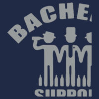 Bachelor Support Team Customisable - Softstyle™ adult ringspun t-shirt Design