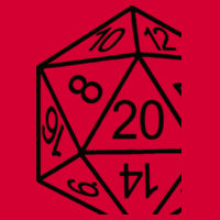 D20 Dice - Softstyle™ adult ringspun t-shirt Design