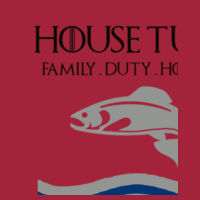 House Tully - Lady-fit strap tee Design