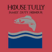 House Tully - Softstyle™ women's ringspun t-shirt - Softstyle™ women's ringspun t-shirt Design