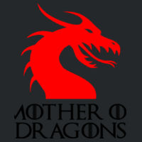Mother Of Dragons - Softstyle™ women's v-neck t-shirt Design