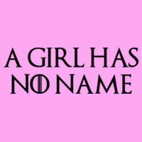 A Girl Has No Name - Lady-fit strap tee Design