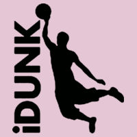 iDUNK - Softstyle™ women's ringspun t-shirt Design