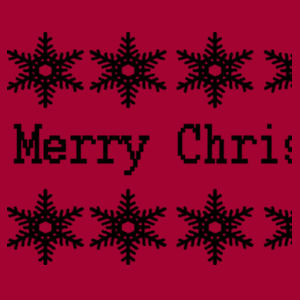 Merry Christmas - Heavy Blend™ youth crew neck sweatshirt Design