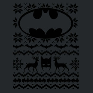 Batman Christmas Jumper - Heavy Blend™ youth crew neck sweatshirt Design