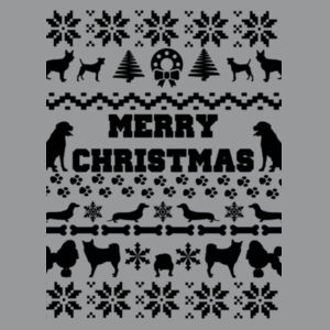 Doggy Christmas - Heavy Blend™ youth crew neck sweatshirt Design