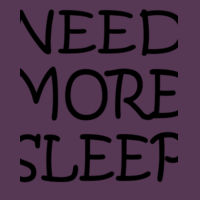NEED MORE SLEEP - Softstyle™ adult ringspun t-shirt Design