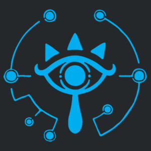 Zelda Sheikah Eye Logo - Softstyle™ youth ringspun t-shirt Design