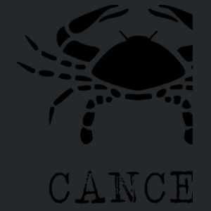 Cancer in silver - Softstyle™ adult ringspun t-shirt Design