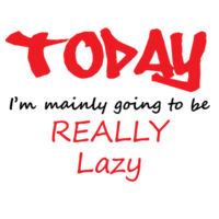 Lazy Day - Towel City Short PJs in a Bag Design
