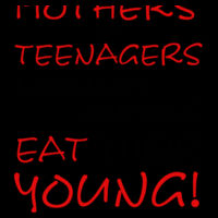 Eat Your Young - Pennant Design