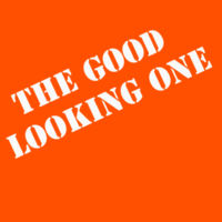 The Good Looking One - HeavyBlend™ adult hooded sweatshirt Design