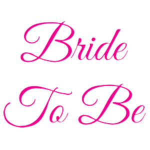 Bride To Be - 38mm Badge Design