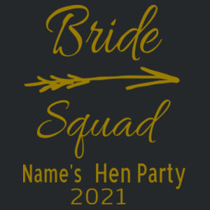 Bride Squad - Softstyle™ adult ringspun t-shirt - Softstyle™ women's tank top Design