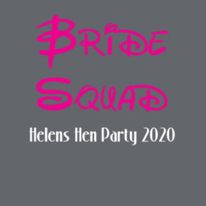 Disney Bride Squad Hen T-shirt - Softstyle™ adult ringspun t-shirt Design