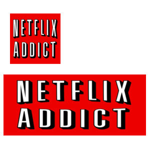 Netflix Addict - Mug  & Coaster Set Design